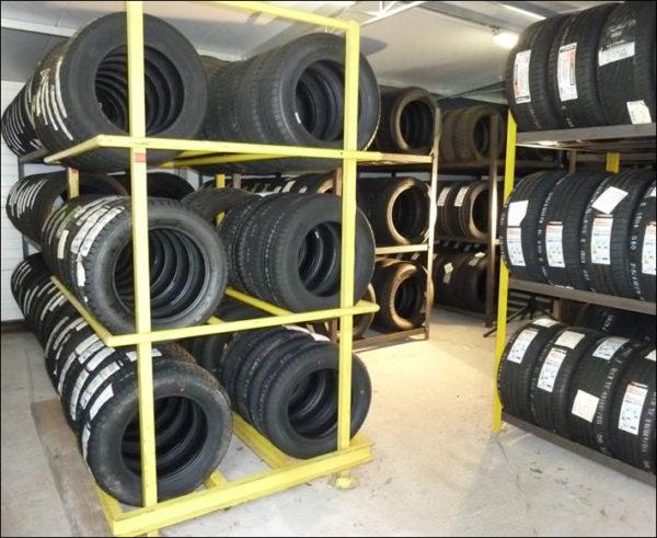 Centrale De Pneus Stockage Pneus Ete Hiver Garage Mourin